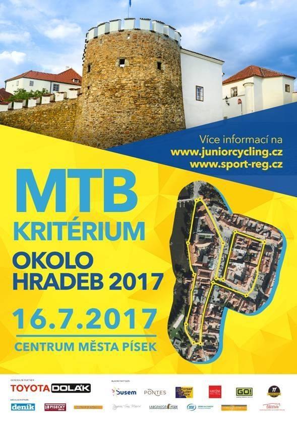 Písek2017 plakát MTB