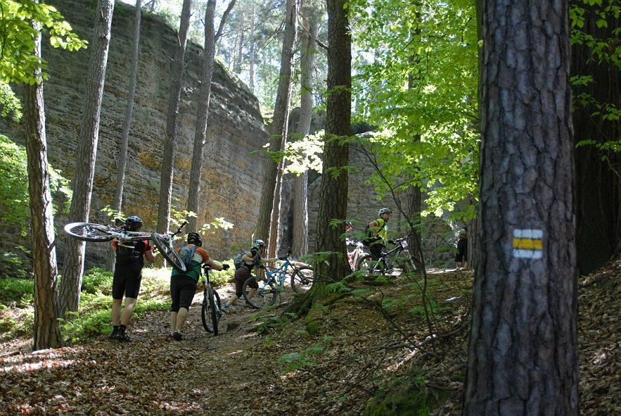 Velo camp 2013 - trasy pátek, krátká a dlouhá trasa k vytištění