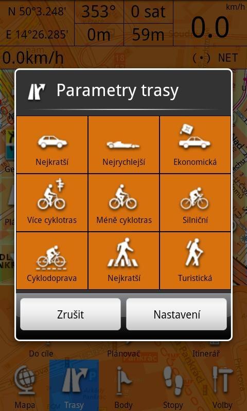 smartmaps navigator planovac