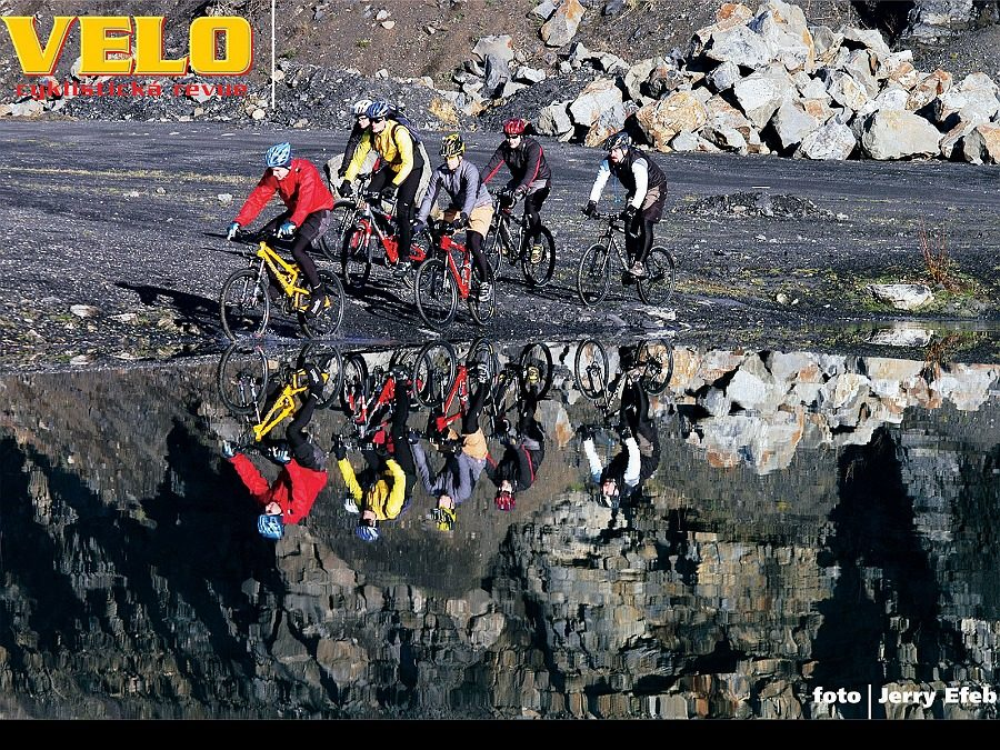 Biking v lomu