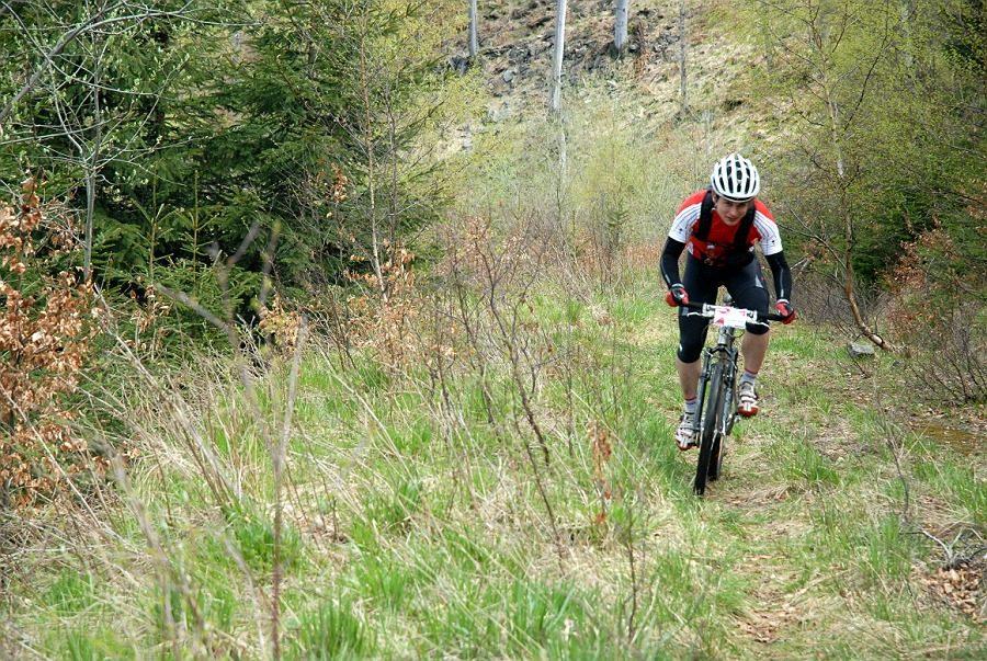 Velo camp 2013 - trasa neděle dlouhá, GPS data